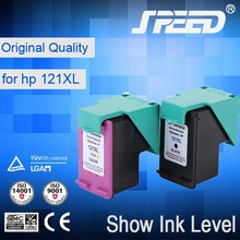 Show Ink Level 121 toner cartridge with Original Ink