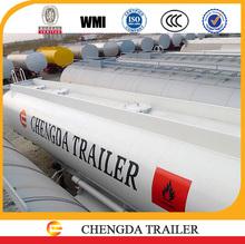 2015 brand new tri-axle 42000 liters fuel tank semi trailer air bag suspension