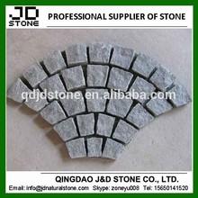 Natural split g654 interlocking cubes/ cheap cobblestone paver mats