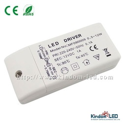 12V led driver 12W led driver with 1A Output Constant Current with CE, RoHS