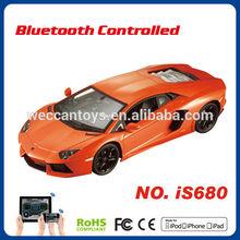 iOS Android control license mini high speed rc car