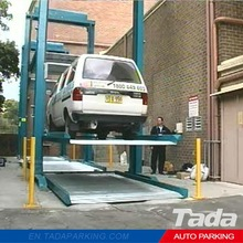 PJS vehicle parking lifter/vehicle lift parking system/used auto garage equipment
