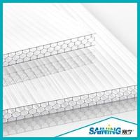 uv coating greenhouse polycarbonate/pc plastic sheet