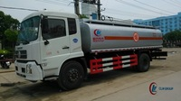 185hp New Design DONGFENG 4*2 Fuel Truck 10ton