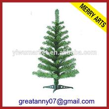 2015 alibaba express china small plastic christmas tree artificial green xmas tree