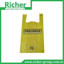 custom grocery bag printed plastic t shirt bags