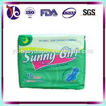 Super dry Soft topsheet Bio Health Care Anion Sanitary Napkin for all age ladies