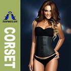 Topmelon Wholesale Factory price 3 hooks black color waist training cincher corset