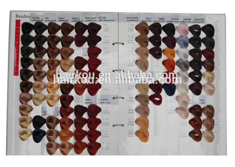 104 Shades Cheveux 233 Chantillon De Couleur Livre