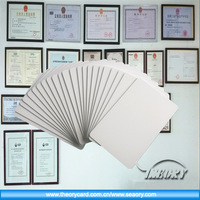 rfid id/ic cards plastic gift cards 13.56MHz card