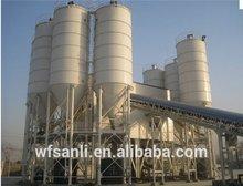 Hot sales, portable HLS120 self loading concrete mix plant for sales