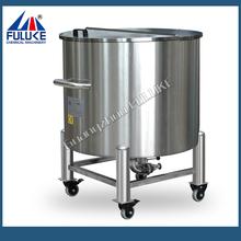 2015 FLK stainless steel biodiesel storage tanks with rollers