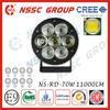 Best Factory Price!!NSSC Lifetime Warranty new 70w car led tuning light/led spot work light led driving lights 70w
