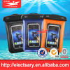 Underwater Pink Waterproof cell phone bag Pouch Case for iPhone 5 Samsung Cell Phone Travel Pack
