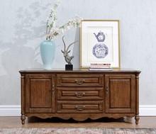 Ameeka Europe type style of Ground ark Chinese catalpa wood solid wood 812#