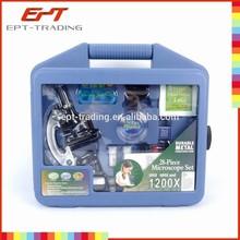 Hot item kid microscope set plastic toy microscope toys for children