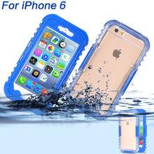 2015 Hot Sale Waterproof Case For iPhone 6, Waterproof For iPhone 6 Case, For iPhone 6 Waterproof Case