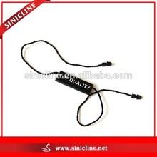 Sinicline Black Plastic Tags Clothing