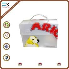 Pet food pp plastic packing case