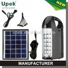 lithium battery led emergency light dome solar light