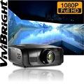 Vivibright perfeito de imagem 3d beamer 10000 lumens projetor negócios 1920*1200 alta qualidade projetor de cinema digital