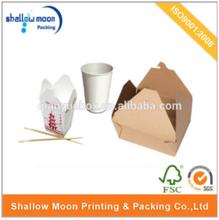 wholesale custom design disposable food packaging