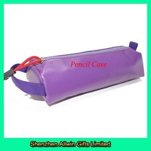 Pen Case Polyester Material Waterproof Purple Pencil Cases