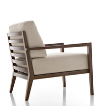 hot sale royal modern wood used armchair imported from china AC4008