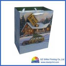 recycle kraft paper bag/brown kraft paper bag/brown paper bag manufacturer