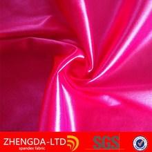 95%polyester 5%spandex stretch satin for gambar model gaun satin long dress fabric