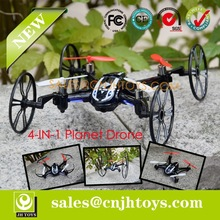 JH-116 2.4G 4CH 6-Axis Deform Quadcopter Rc Helicopter With Camera RTF ( 4-IN-1)