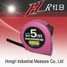 bright color purple measuring tape ABS body case