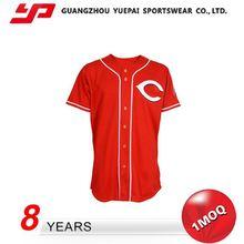 Wholesale Latest Style Custom Baseball Jersey Sleeveless