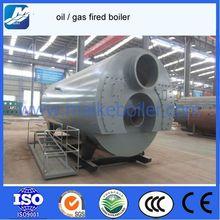 best price 6 ton heavy oil /gas fired steam boiler