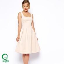 D114 OEM Sleeveless Slim Fit Women Dresses Party