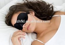 black top quality foam sleep eye mask