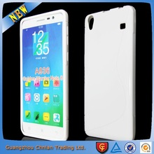 Matte s line soft gel tpu back cover mobile phone case for lenovo note 8 A936