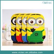 Wholesale cheap 3d silicone minion case for ipad 2 3 4