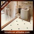 24x24 limpeza preto e branco da porcelana telha feita na china
