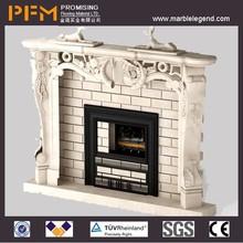 Hot sale handmade decoration fireplace heating
