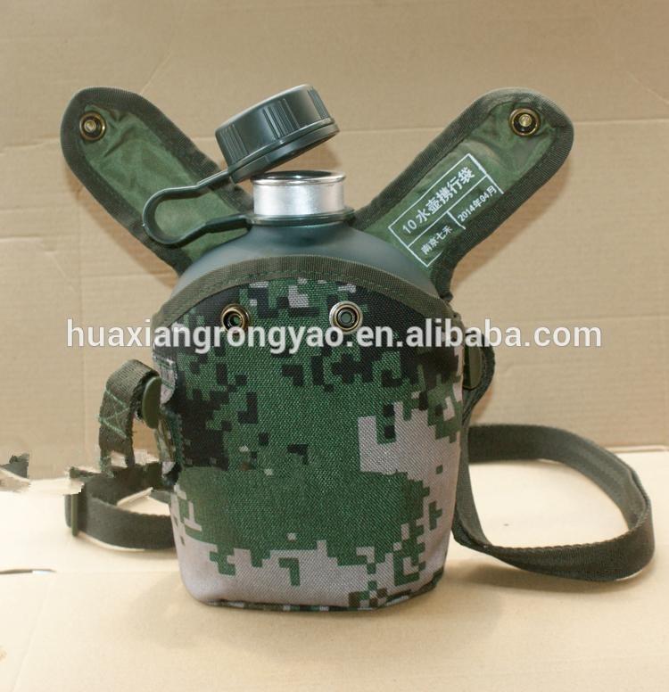 top top top top verde militar camo cantil plástico