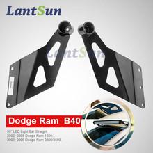 50inch Ram led light bar roof bracket for LED Light Bar Straight