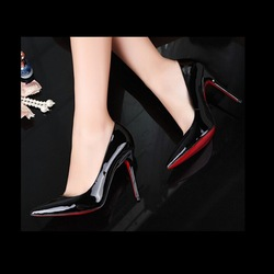 OP18 red bottom shoes price designer shoes from china leather shoes for woman