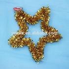PVC/PET wedding paper garland styrofoam wreath rings work wreath wholesale
