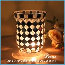 candle holder tea light insert *Mosaic glass candlestick* glass votive candle holders