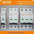 Dz47-63/118 disjoncteur miniature( mcb) 400v 6a symbole électrique pour disjoncteur