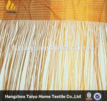 2015 luxury decorative fringe curtain