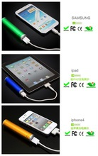 Gold China supplier power bank Silver 2600mah portable Charger Cell Power Bank