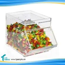 Custom Candy Bins Plastic Candy Bins Acrylic Candy Bins for Retail Store