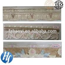 HYB15-35 300x80MM 100x300MM resin border bathromom border kitchen border waistline Wall Skirting